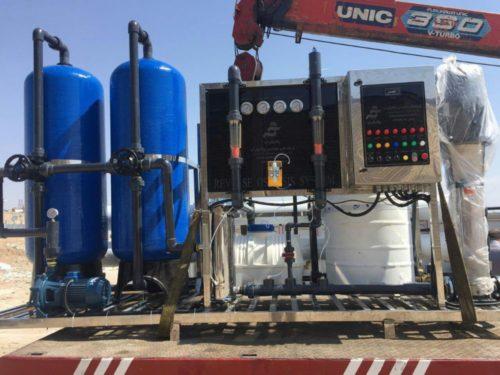 دستگاه تصفیه آب صنعتی و نیمه صنعتی - پالایش آب