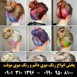 مو (۴۶۳) [رنگ مو]