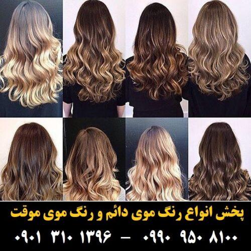 مو (۳۹۲) [رنگ مو]
