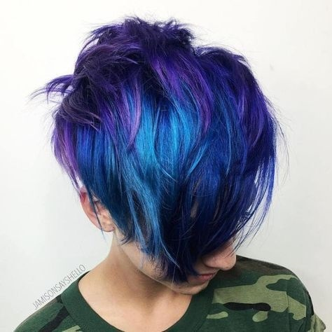 رنگ مو گلدن رین رنگ آبی ۲