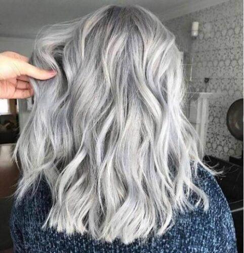 مو رنگی خاکستری گیاهی  ۸۵ میلی لیتر گلدن رین ۵۶